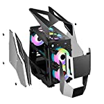 Pc-cases-Compact-PC-Gaming-Case-USB-Type-C-Port-Tempered-Glass-Side-Panel-Cable-Management-System-Water-Cooling-Ready-Very-Cool-Computer-Case-genneric