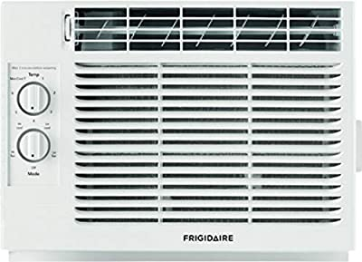 "Frigidaire FFRA051ZA1 17"" Window Air Conditioner with 5000 BTU Cooling Capacity - 115V in White"
