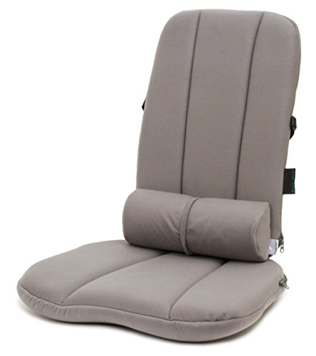 (BETTERBACK Deluxe Back Care System-Provides Lumbar Support & Reduces Back, Hip, Tailbone, Coccyx & Sciatica Pain-Made from Foam–Ergonomic Design Helps Improve Posture to Prevent Slouching)