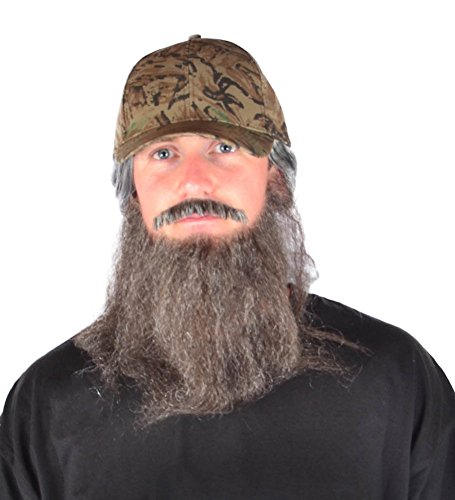 [My Costume Wigs Duck Dynasty Uncle Si One Size Fits All] (Si Robertson Duck Dynasty Costume)