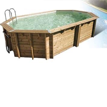 Pool Holz Océa 6,10 X 4 M Beige