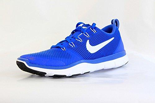 Nike 833257-410 Versatilità Del Treno Gratis Tb Game Royal / White-black Taglia 8.5 Scarpe Da Uomo