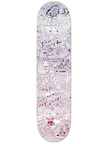 Krooked Ferris Plock Guest Skateboard Deck - 8.06