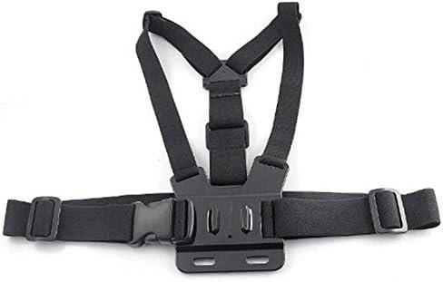 Shoot Elastic Head Strap for Gopro Hero 5 4 3 SJ4000 Xiaoyi 4K with Chin Belt
