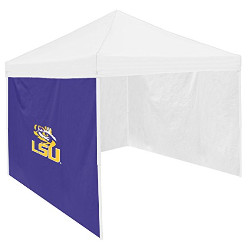 "NCAA Lsu Tigers Adult Side Panel, Purple, 9"" x 6"""