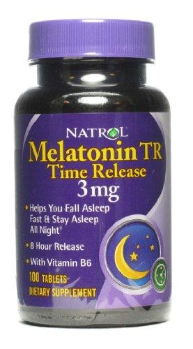 Natrol Melatonin Milligram Time Release