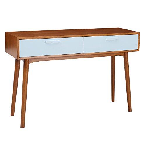 Porthos Home Carla Console Table  Aqua