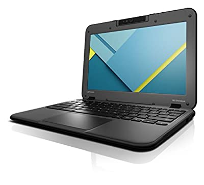 "Lenovo Chromebook N22 11.6"" Notebook, IPS Touchscreen, Intel N3060 Dual-Core, 16GB eMMC SSD, 4GB DDR3, 802.11ac, Bluetooth, ChromeOS"