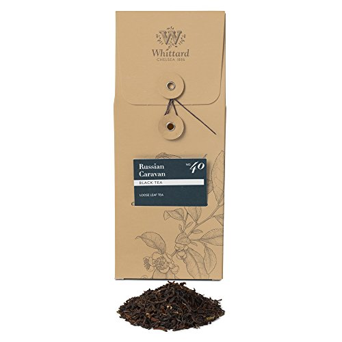 Russian Caravan Blended Tea (Whittard Tea Russian Caravan Loose Leaf 100g)