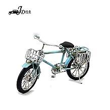 My Box Vintage / Retro Handicraft- Metal Bike Models - Bike , the Best Choice for Christmas Gift/home Decor/ornament/ Desktop Decoration (light blue)