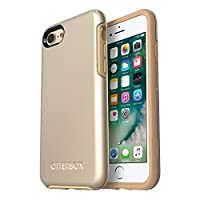 OtterBox SYMMETRY SERIES Case for iPhone 8 & iPhone 7 (NOT Plus) - Retail Packaging - Champagne
