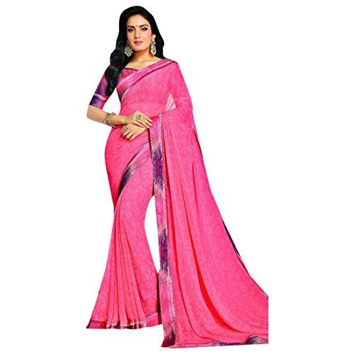 2879 Georgette Bollywood EMPORIUM ETNICO Casual indiano Saree Designer stampato vgn8nqFw