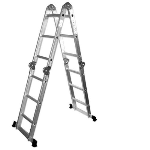 Neiko 01995 Multi Ladder Aluminum Configurations
