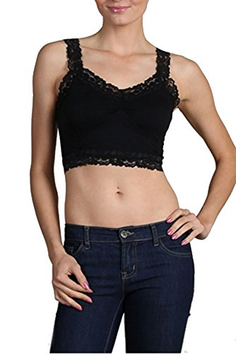 M. Rena Crop Corset Cami (Black), used for sale  Delivered anywhere in USA