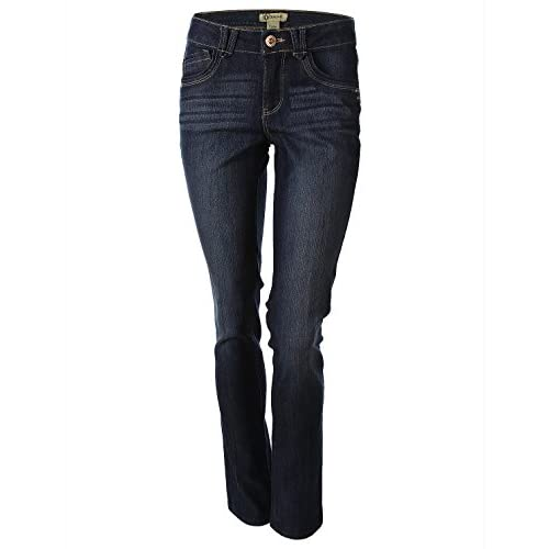 Democracy Women's Liberty Skinny Jeans with Embellished Back Pockets
