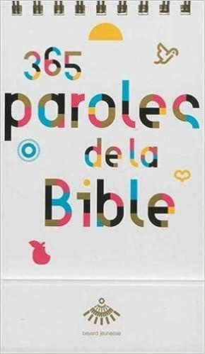 En ligne téléchargement gratuit 365 PAROLES DE BIBLE epub pdf