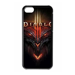 Diablo for iPhone 5C Cell Phone Case & Custom Phone Case Cover R69A650690