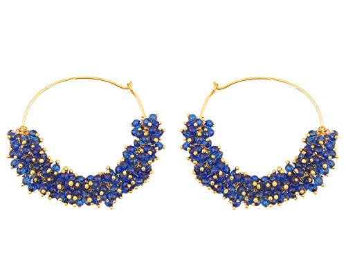 Indian Designer Earrings (Touchstone