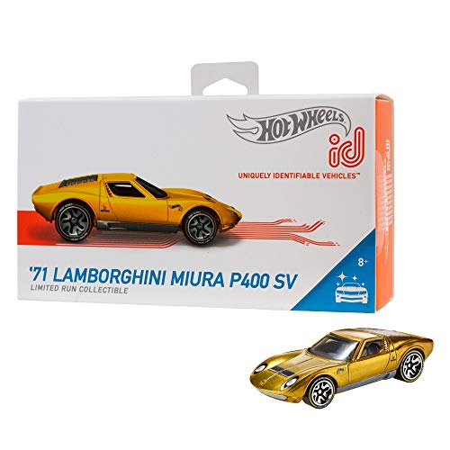 Hot Wheels id '71 Lamborghini Miura P400 SV {Factory Fresh} (Hot Wheels Vw)