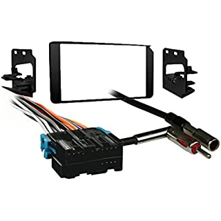 Metra 95-3003G 2-DIN Dash Kit Combo for Select 1995-2000 GM Full-Size Truck/SUV