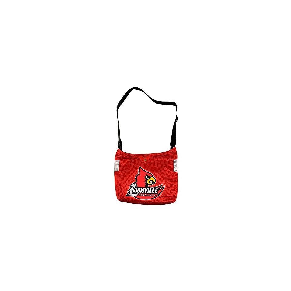 NCAA Veterans Jersey Tote/ University of Louisville, KY (Louisville Cardinals) RED