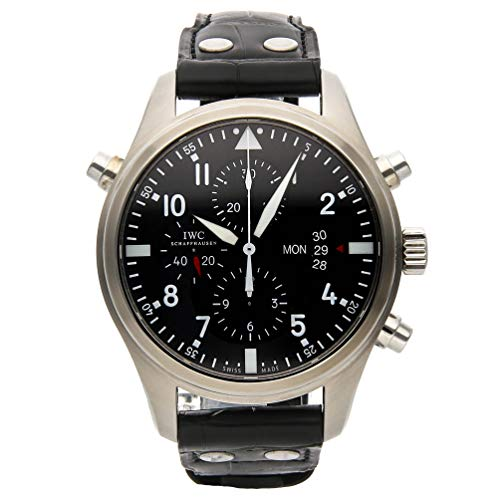 - IWC Pilot Mechanical (Automatic) Black Dial Mens Watch IW3778-01 (Certified Pre-Owned)