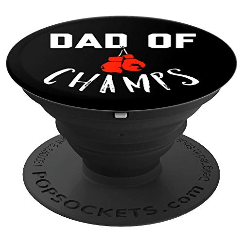 Dad of Champs Funny Joke Saying Gadget Stocking Stuffer - PopSockets Grip and Stand for Phones and Tablets