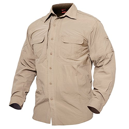 Mens Quick Dry Shirt (US L,Tag 2XL) (5ive Jungle Shirts)