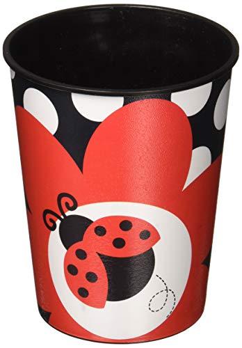 Ladybug Fancy 16 Oz Plastic Keepsake Cup