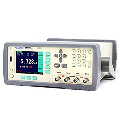 AT516L DC Resistance Meter High-Performance 32dgt ARM Micro Processor Control Temperature Datalogger TFT True Color LCD Display