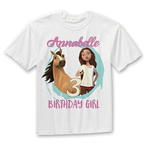 Spirit Riding Free Outfit, Spirit Riding Free Birthday Shirt,Spirit Horse Shirt