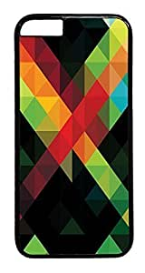 ACESR Abstract Pattern iphone 5c Hard Case PC - Black, Back Cover Case for Apple iphone 5c( inch)