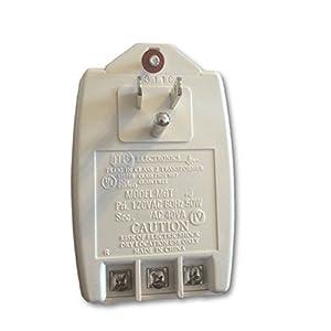 or LEM-1DL Aiphone Corporation PT-1210N 12V AC Transformer for CCS-1A IE-8MD 60Hz Input Voltage: 120V EL-12S