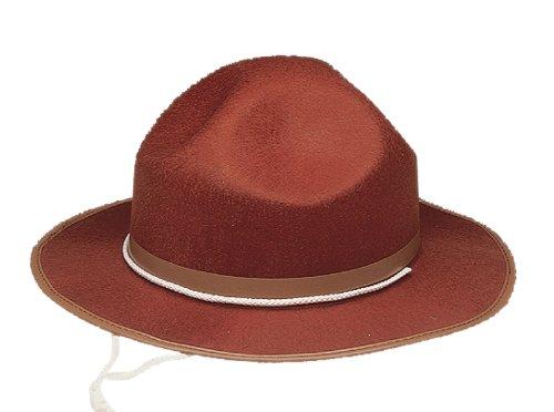 16871 Mounties Drill Sargent Hat Permafelt