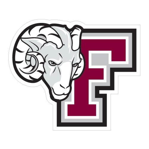 Fordham Large Decal 'F w/Ram Head' by CollegeFanGear