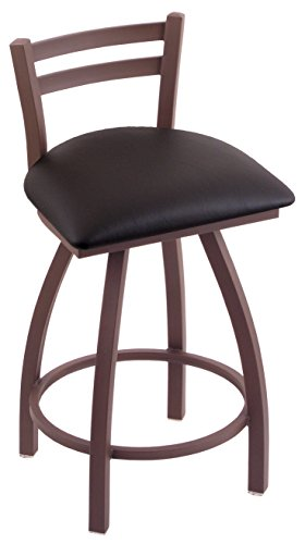 (Holland Bar Stool 411 Jackie Bronze Finish and Swivel Seat Low Back Counter Stool, 25