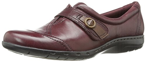 Rockport Cobb Hill Women's Pamela-Ch Mary Jane Flat, Merlot, 7.5 M US - Hills Merlot