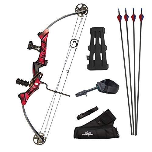 SAS Primal 35-50 lbs Compound Bow Target Pro Package