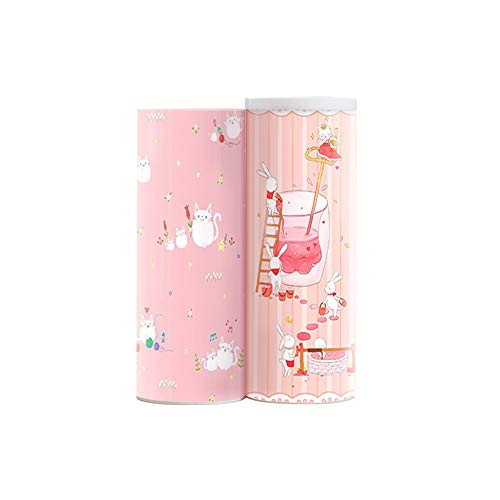 Pencil Case Plastic, Wusheng Creative Multi-Function Large-Capacity Pen Box for Boys and Girls Cute Little Fresh Cartoon Simple Primary Junior High Students Stationery (Little Fairy)