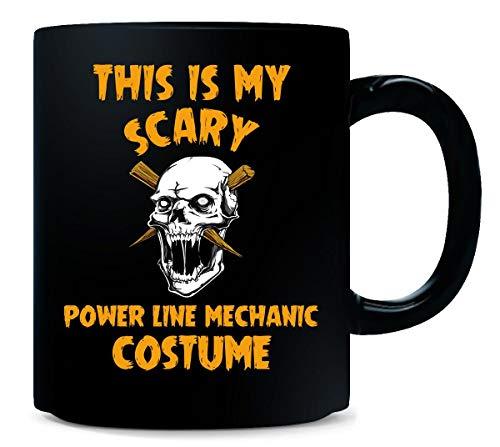 This Is My Scary Power Line Mechanic Costume Halloween Gift - Mug