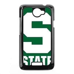 HTC One X phone case Black Michigan State AAAD1779430
