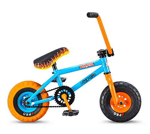 (Rocker BMX Mini BMX Bike iROK+ Blue Steel RKR)