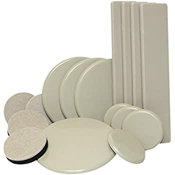 Super Sliders Round Movers For Furniture On Carpeted