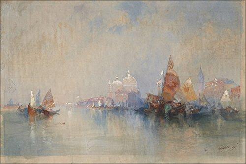 24x36 Poster; Moran, Thomas, Venice, The Lagoon Looking Toward Santa Maria Della Salute, (Towards Santa)