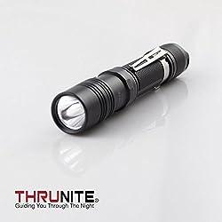 Thrunite Tn12 2014 Edition 1050 Lumen Single Cree Xm-l2 U2 Led Edc Flashlight, Neutral White