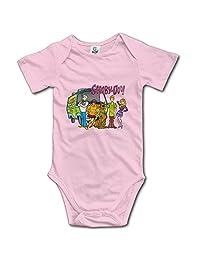 Scooby-Doo Family Unisex Boys Girls Baby Bodysuit Onesies 100% Cotton