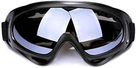 QAIYXM Gafas de esquí, a Prueba de Viento 1Pcs Invierno Esquí vidrios de los anteojos Deportes al Aire Libre CS Lentes Gafas de esquí UV400 Gafas de Sol Protectoras de Polvo Moto Ciclismo