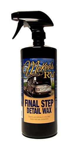 Final Detail Spray Wax (McKee's RV MKRV-150 Final Step Detail Wax, 32 fl. oz.)