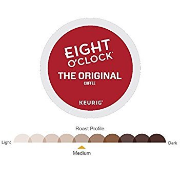 Eight O'Clock Coffee Keurig Single-Serve K-Cup Pods, The Original Medium Roast Coffee (Original, 108 Count) by Eight O'Clock Coffee