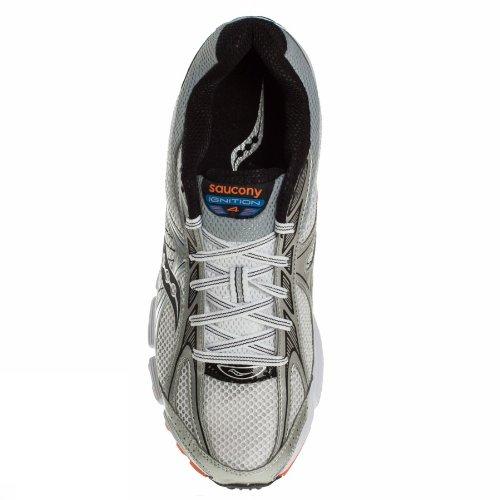 Saucony Men's Ignition 4 White/Blue/Orange 12 M US